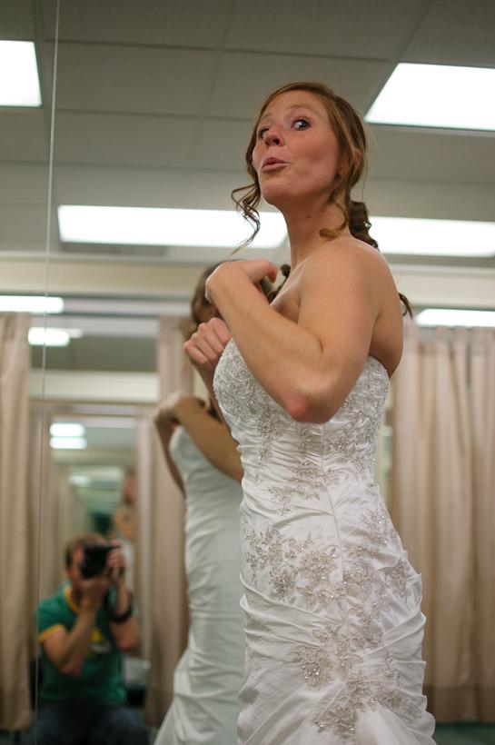 Aprils Wedding Dress